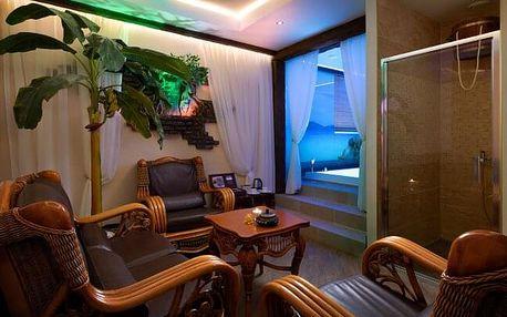 Krušné hory poblíž Karlových Varů: Rodinný Hotel Honour & Grace **** s wellness, fitness, drinkem a polopenzí