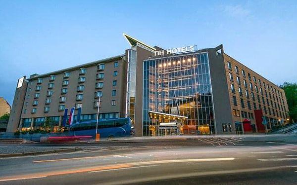 Praha nedaleko centra luxusně v Hotelu NH Prague City **** se snídaní a BBQ večeří na terase + dítě zdarma