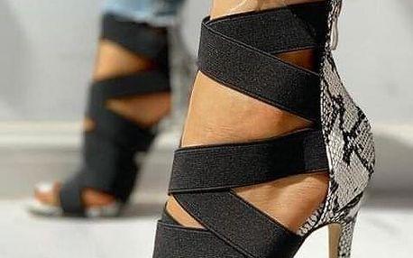 Dámské boty na podpatku Laureen