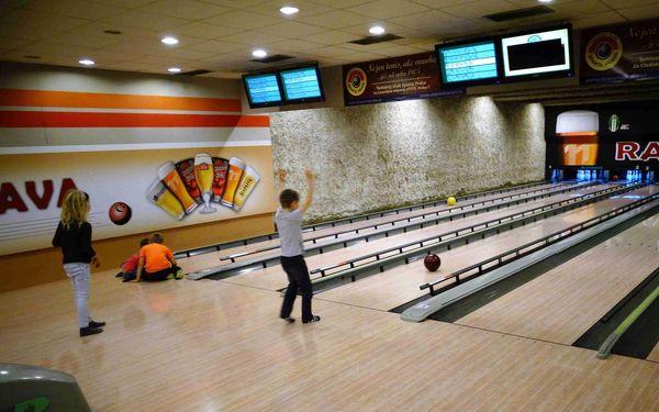1 hodina bowlingu (do 17.00 hod.)2