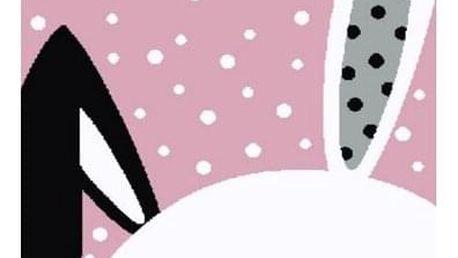 Vopi Kusový dětský koberec Kiddo 0131 pink, 120 x 170 cm