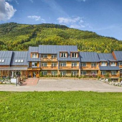 Léto na Slovensku u Nízkých Tater: Hotel Zerrenpach Osrblie *** s wellness a polopenzí + dítě do 6 let zdarma