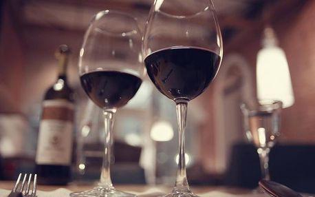 Degustace luxusních francouzských vín