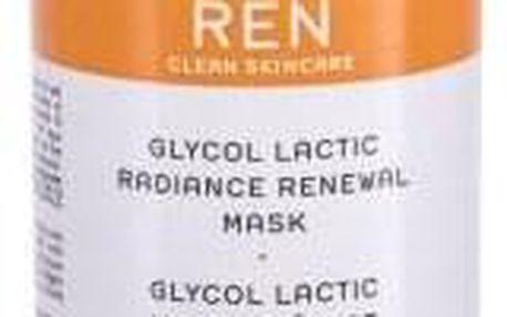 Ren Clean Skincare Radiance Glycol Lactic Radiance Renewal AHA 50 ml exfoliační pleťová maska pro rozjasnění pro ženy