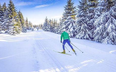Žďárské vrchy jen 2 km od lyžařského areálu v Hotelu Mánes *** s wellness centrem, soláriem a snídaněmi