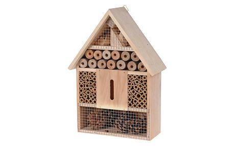 Hmyzí domeček hnědá, 22 x 30 cm