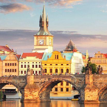 4* Praha: polopenze, i wellness