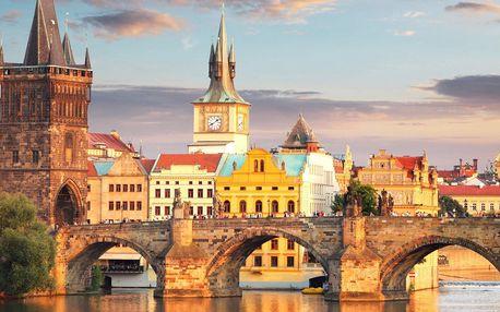 4* Praha: polopenze, wellness a slevy ve městě