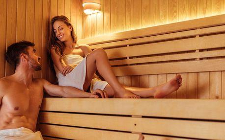 Sauna a vířivka v privátním wellness na Václavském náměstí