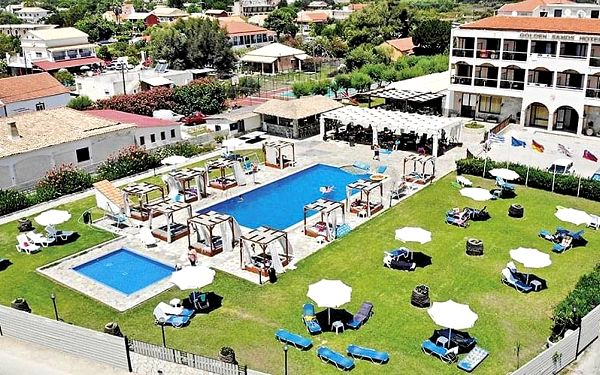 Hotel Golden Sands, Korfu, letecky, all inclusive