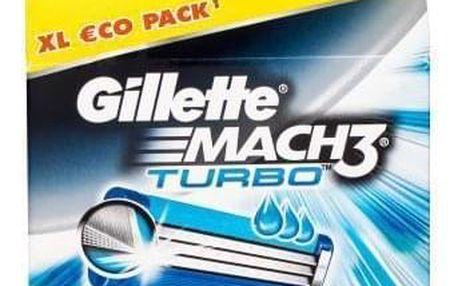 Gillette Mach3 Turbo 8 ks náhradní břit pro muže