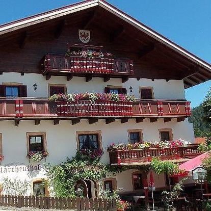Rakousko - Tyrolsko na 4 dny