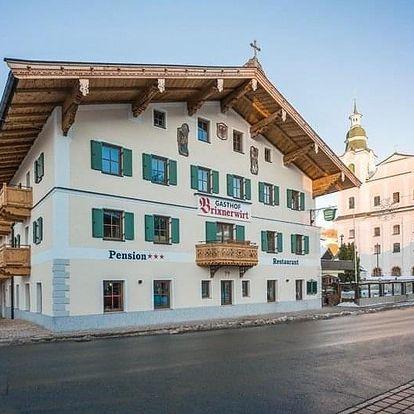 Rakousko - Brixental na 3-7 dnů, polopenze
