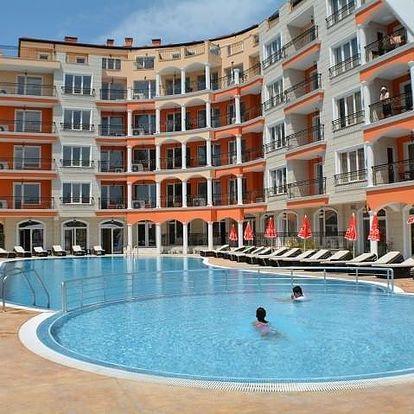 Bulharsko - Slunečné pobřeží letecky na 15 dnů, all inclusive
