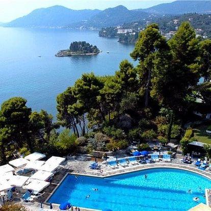Řecko - Korfu letecky na 8-13 dnů, polopenze