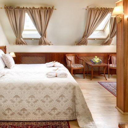 4* hotel u Václavského nám. se snídaní a wellness