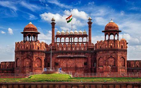 Indie letecky na 7 dnů, strava dle programu