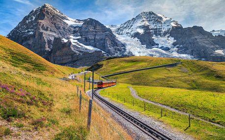 Švýcarsko letecky na 4 dny, snídaně v ceně