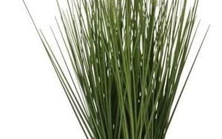 Umělá kvetoucí tráva Lotta, 46 cm