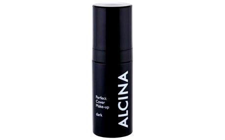 ALCINA Perfect Cover 30 ml matující make-up pro ženy Dark