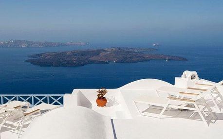 Řecko - Santorini letecky na 8 dnů, snídaně v ceně