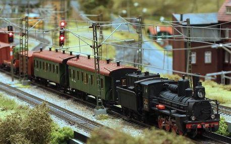 Vstup do Království železnic v Praze