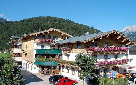 Rakousko - Saalbach - Hinterglemm na 5 dnů, polopenze