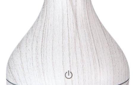 Sixtol aroma difuzér Flower bílé dřevo 130 ml