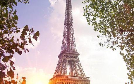 Francie - Paříž autobusem na 6 dnů, snídaně v ceně