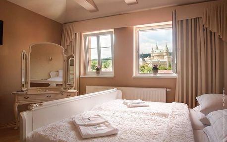 Pobyt v hotelu Bojnický vinný dům kousek od zámku