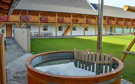 Jižní Čechy v blízkosti rybníků i Českých Budějovic v Penzionu Statek 3 s využitím wellness a polopenzí