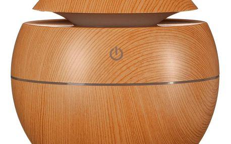 Sixtol aroma difuzér Ball světlé dřevo 130 ml