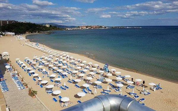 Afrodita Beach, Slunečné Pobřeží, Bulharsko, Slunečné Pobřeží, letecky, polopenze2