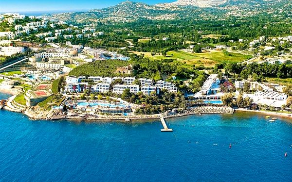 Hotel Kadikale Resort Spa & Wellness, Bodrum, letecky, all inclusive