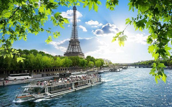 Francie - Paříž autobusem na 7 dnů, snídaně v ceně