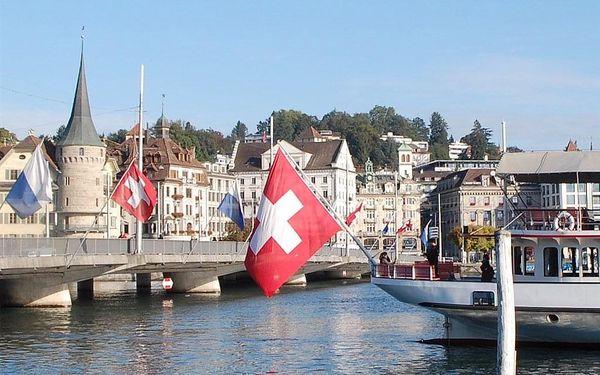 Švýcarsko autobusem na 7 dnů, polopenze