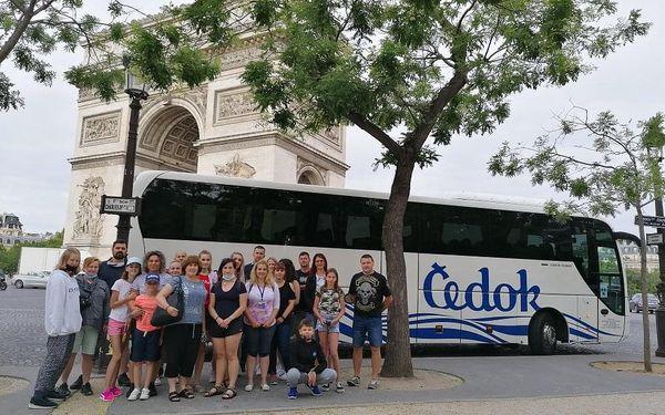 Paříž a Disneyland (autobusem), Paříž, autobusem, snídaně v ceně4