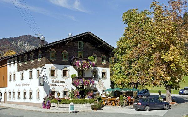 Gasthof Mitterjager, Tyrolsko, vlastní doprava, polopenze5