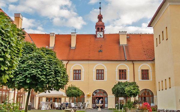 4* pobyt na barokním zámku Čechtice s polopenzí