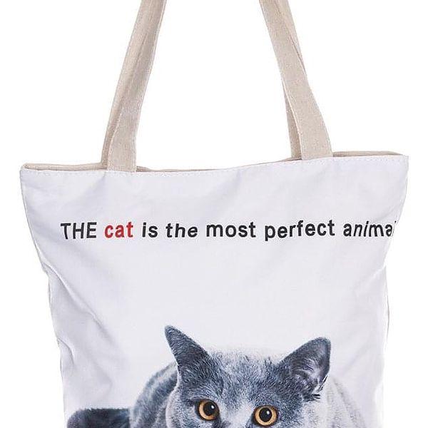 Fashion Icon Módní textilní taška Funny Friends kočky bavlněná