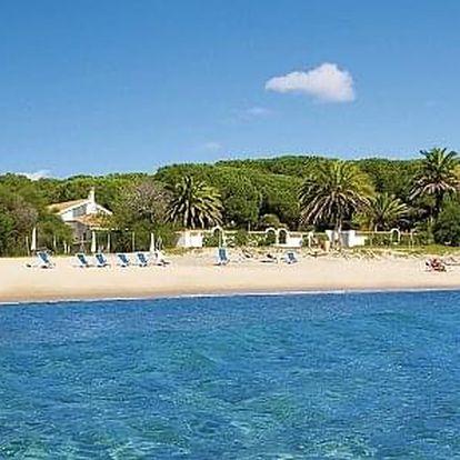 Itálie - Sardinie letecky na 8 dnů