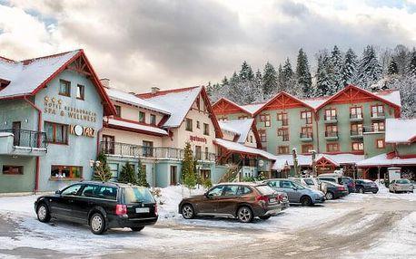 Polské Beskydy přímo pod sjezdovkou v Hotelu Kotarz *** s neomezeným wellness jen 25 km od hranic