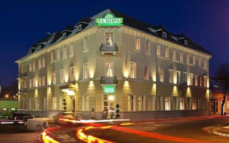 5 denní pobyt v historickém hotelu EUROPA v Popradu