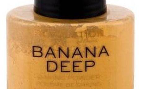 Makeup Revolution London Baking Powder 32 g sypký pudr pro ženy Banana Deep