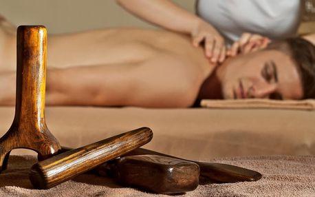 60–90 min. lymfatická, anticelulitidní či Tok Sen masáž