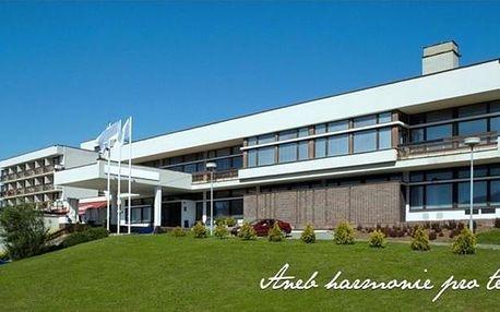 Pobyt u Luhačovických lázní ve vyhledávaném Hotelu Harmonie