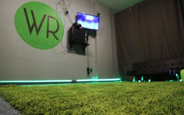 30 min. 3D racing simulátoru a jízda na horské dráze pro 1 osobu3