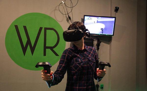30 min. 3D racing simulátoru a jízda na horské dráze pro 1 osobu5