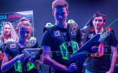 Laser game: akční i taktická zábava pro 4–12 hráčů