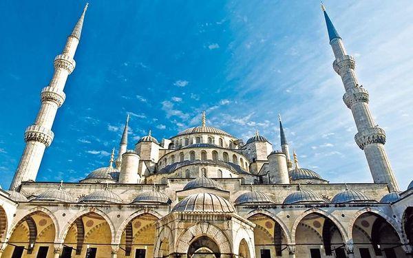ORIENTÁLNÍ ISTANBUL, Istanbul, letecky, snídaně v ceně5